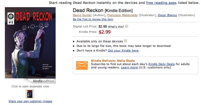 Dead Reckon on Amazon